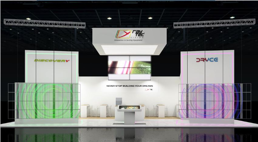 RAYTEC VISION - FRUIT LOGISTICA - BERLINO - rendering