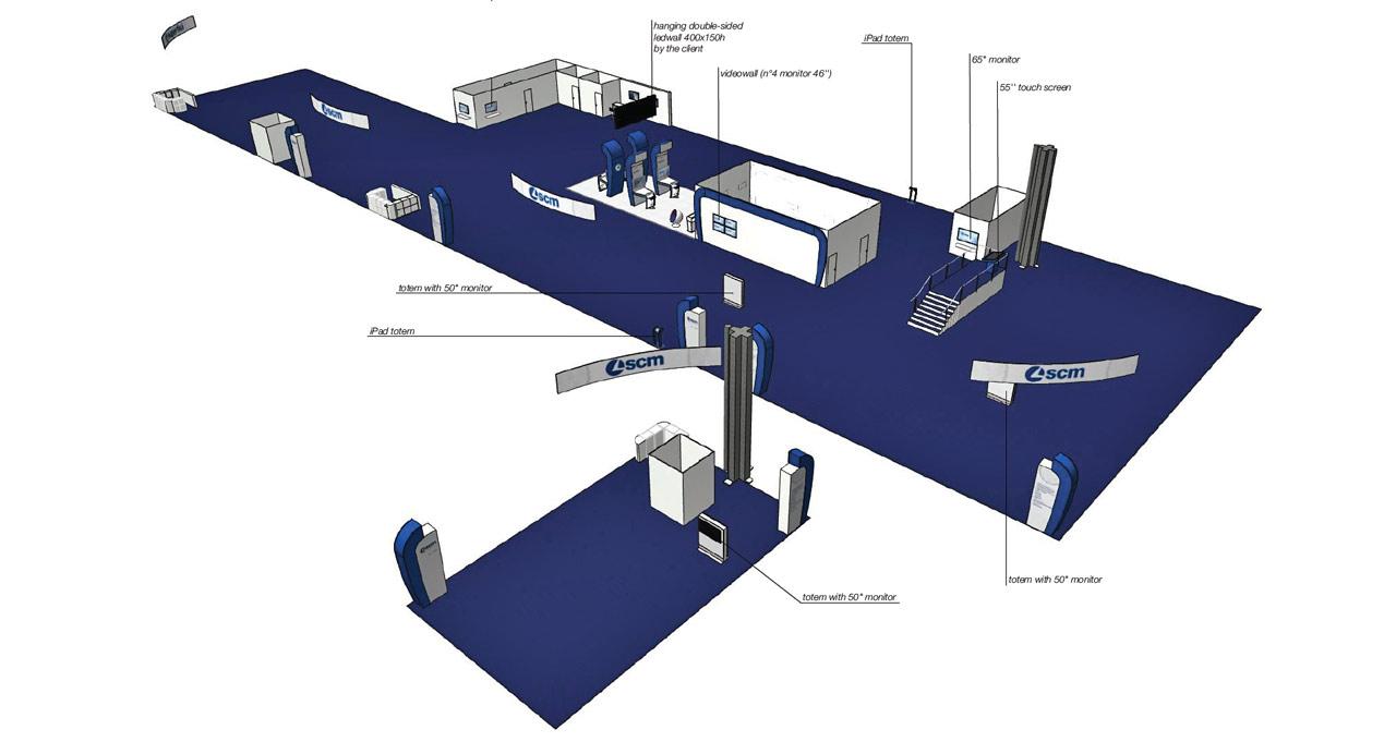 Scm Group - IWF - ATLANTA - rendering